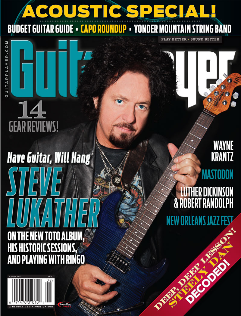 lukather guitar player 2015