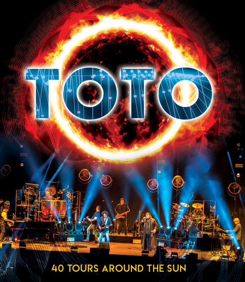 TOTO TO RELEASE 40TH ANNIVERSARY DVD / BLU-RAY / AUDIO SET